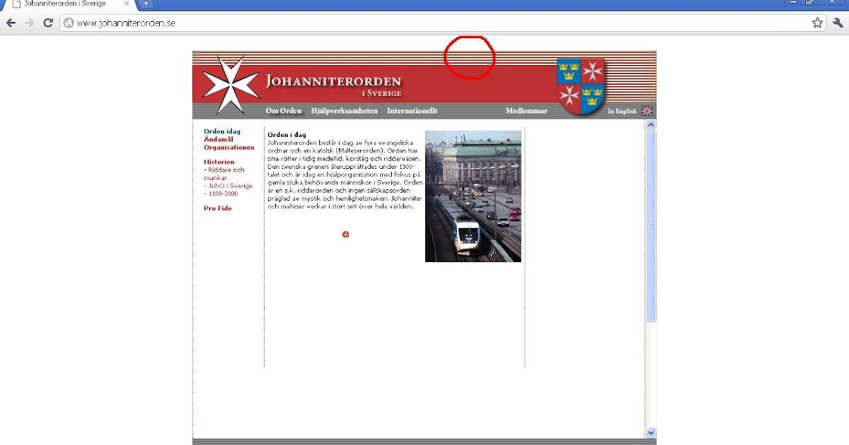 84267200 johncons: Man kan se at Johanitterordenen har røde og hvite striper. Dette  bringer tilbake minner, fra 80-tallet