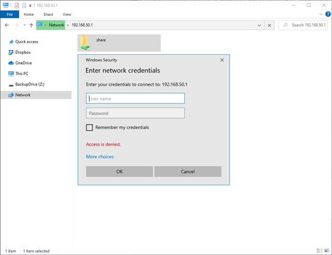 Acceda a su almacenamiento de red desde Windows 10