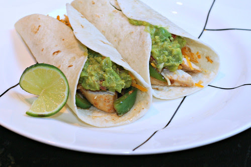 Chipotle Lime Chicken Fajitas