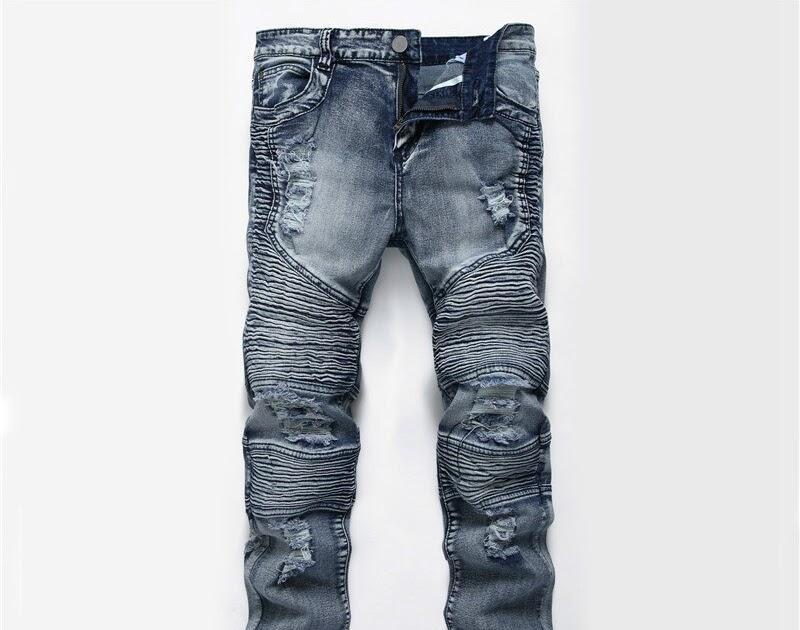 Talla Nuevos Ajustados Desgastados Pantalones Comprar Vaqueros FXqCw1wx
