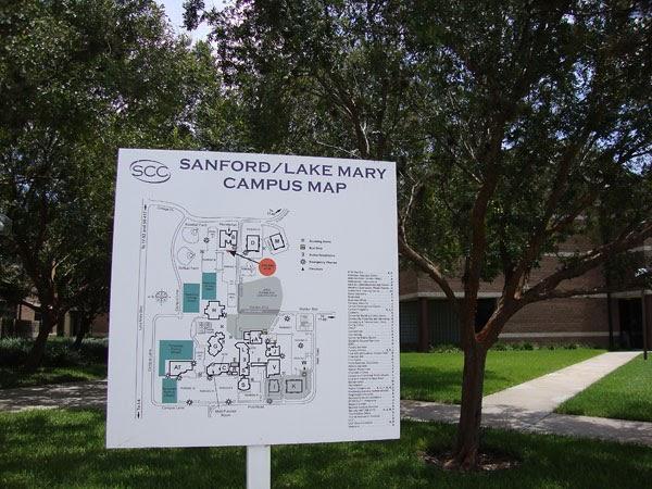 Seminole State College Sanford Campus Map Global Map