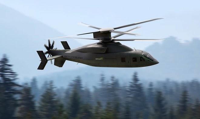 Boeing приоткрывает секреты Defiant X – самого быстрого штурмового вертолета в мире
