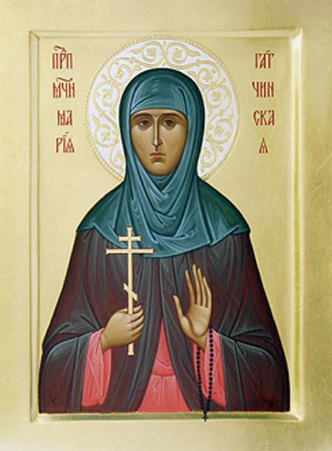 IMG ST. MARIA, Nun-Martyr of Gatchina