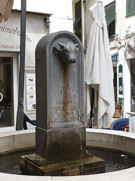 fontaine vache