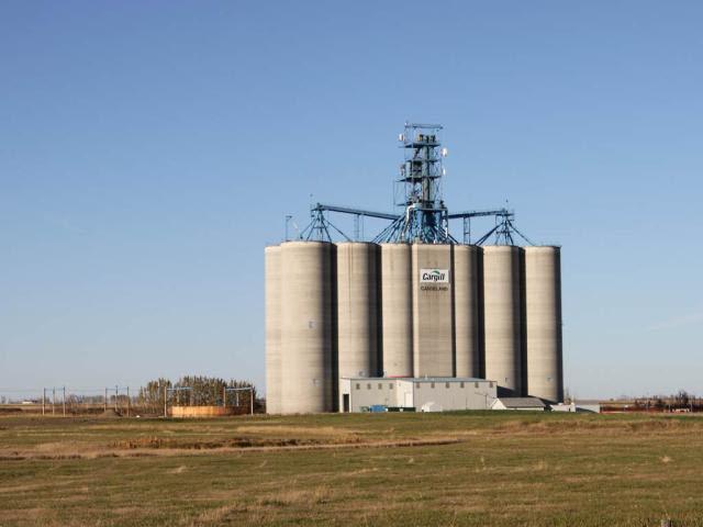 Cargill elevator in Carseland AB