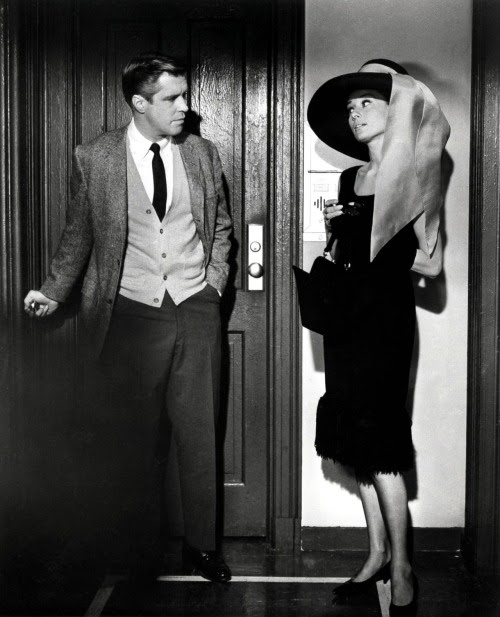 Audrey Hepburn and George Peppard,Breakfast at Tiffany's (1961)