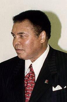 Muhammad Ali- a convert to Islam