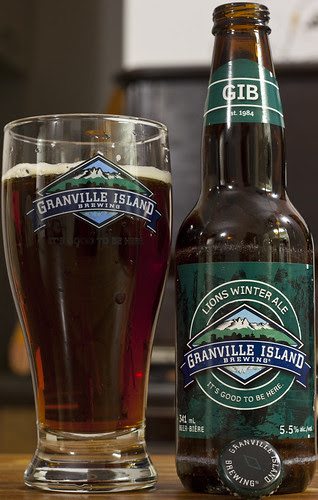 Review: Granville Island Lions Winter Ale by Cody La Bière