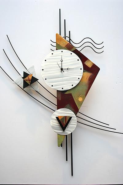contemporary clocks