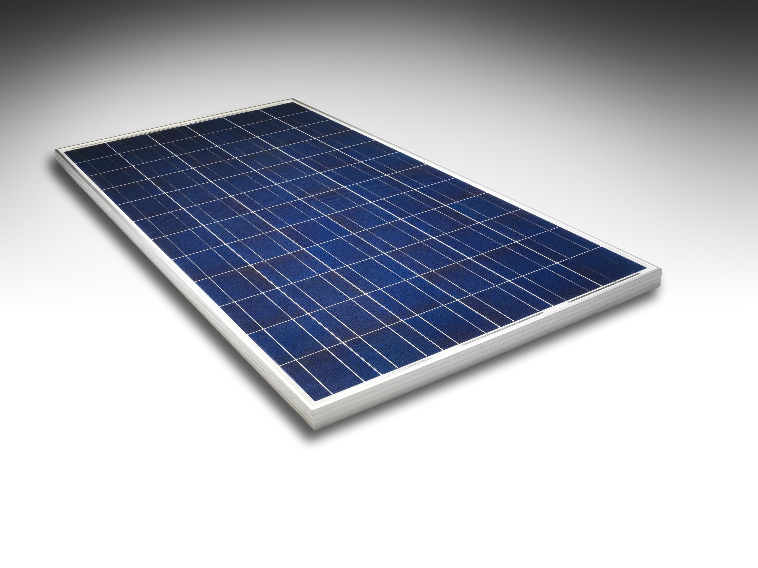 Motech Solar Panel floating
