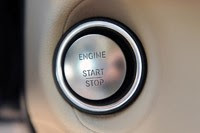 2012 Mercedes-Benz CLS550 start button