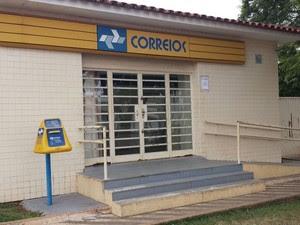 Agência dos Correios Perdizes (Foto: Raphael Rios/G1)