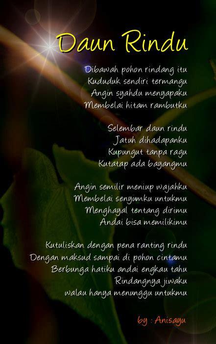 puisi cinta  anisayu kumpulan puisi cinta romantis