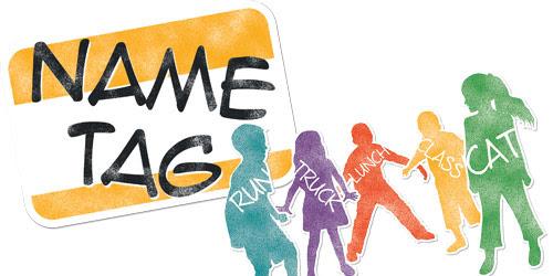 Name Tag Game