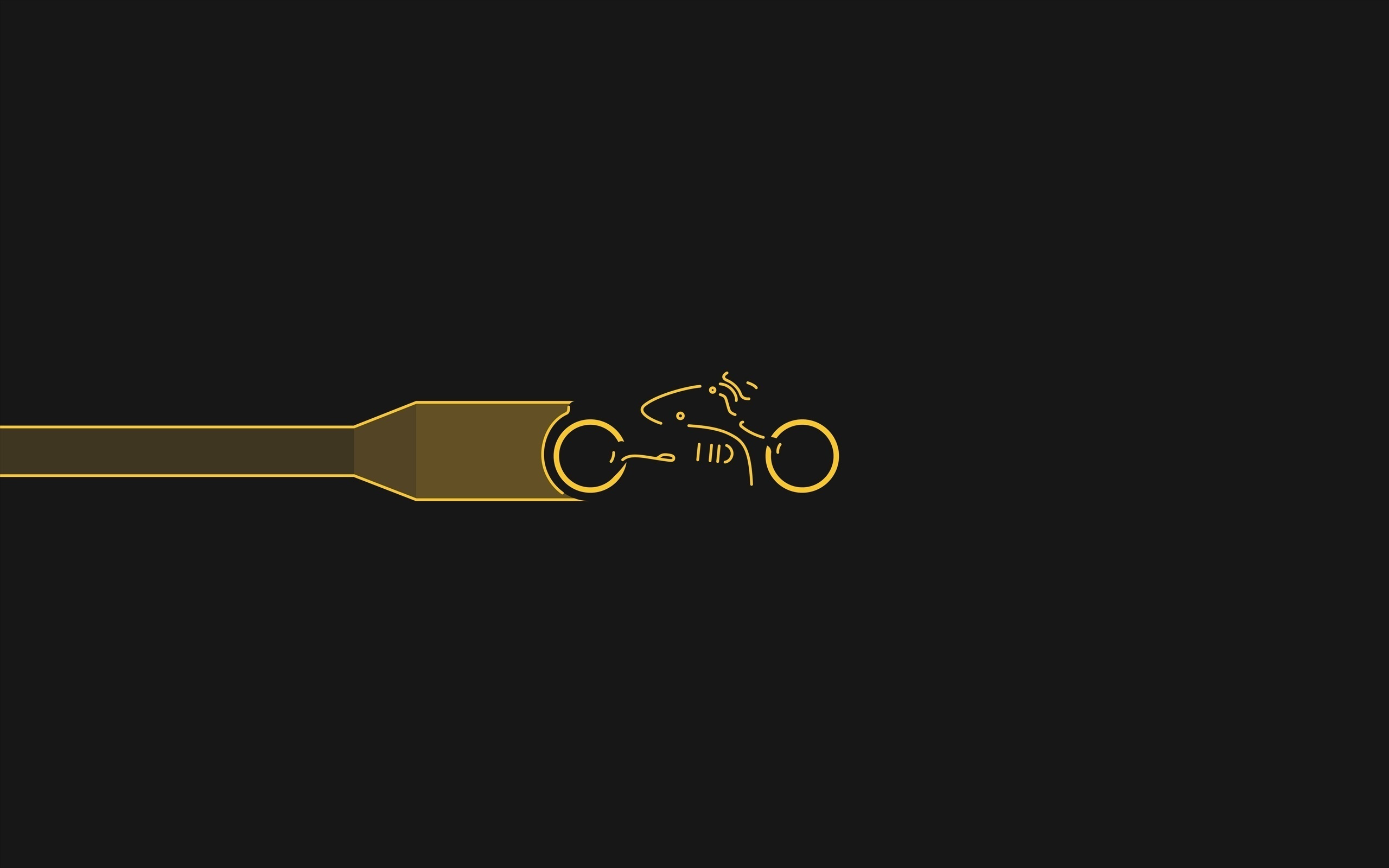 Minimalist Tron Legacy [2560x1600]