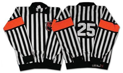 1994-95 NHL Referee Andy Van Hellemond jersey, 1994-95 NHL Referee Andy Van Hellemond jersey