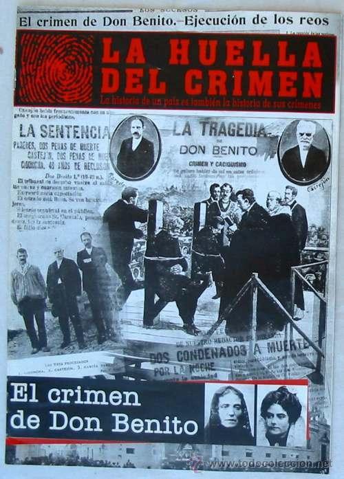 Resultado de imagen de la huella del crimen