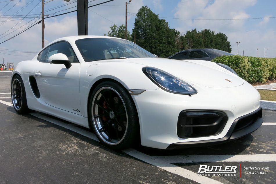 Porsche Cayman With 20in Rennen R55x Wheels Exclusively From Butler Tires And Wheels In Atlanta