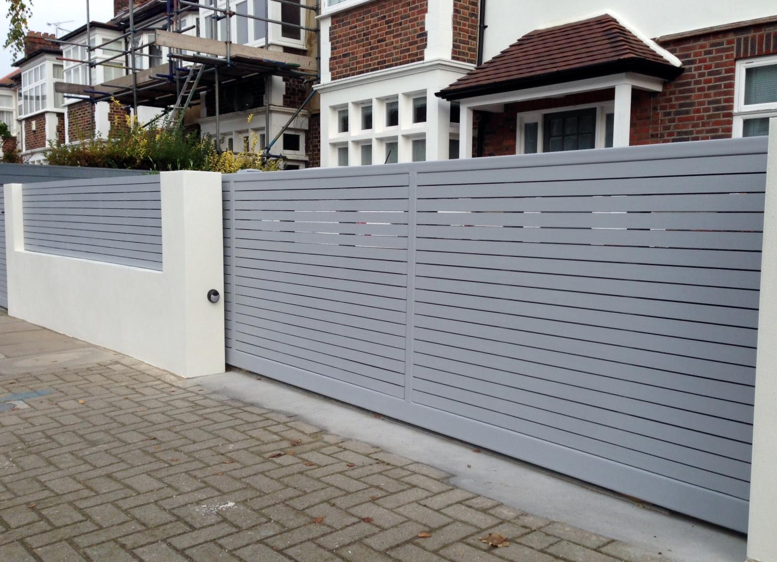 Front Gate Wall Design Castrophotos