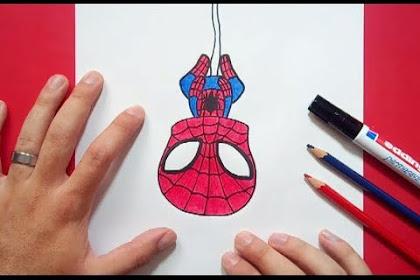 Cara De Spiderman Dibujo Animado