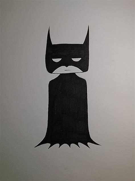 draw  quick  easy batman    simple