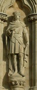 Retrato de San Edmundo rey