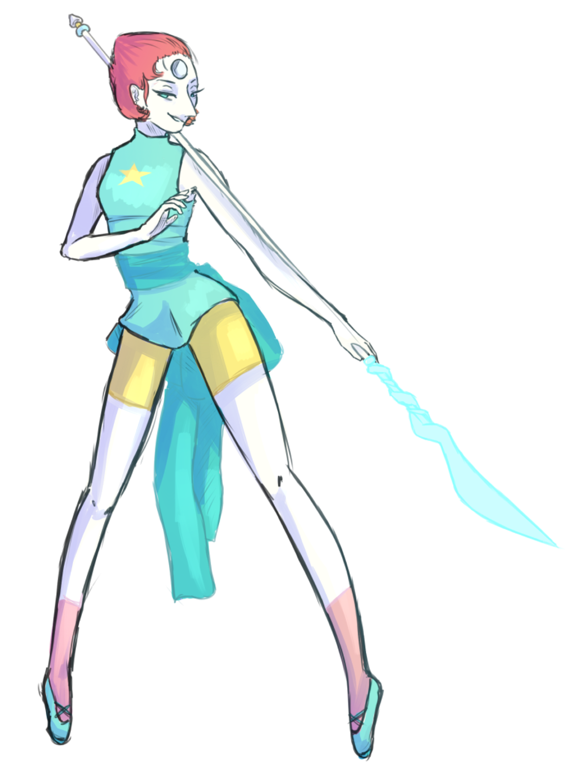 Pearl from steven universe, gift to a friend