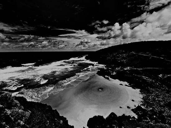 Εξωπραγματική τέχνη σε παραλίες από τον Jim Denevan (19)