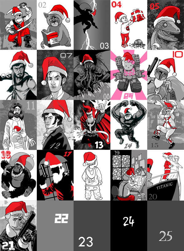 2009 Advent Calendar 21-12-09