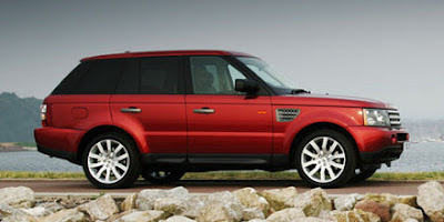 Kate Walsh range rover sports car