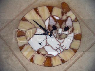 cat clock Pictures, Images and Photos