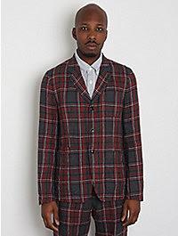 Ts(s) Linen Check Formal Jacket 1