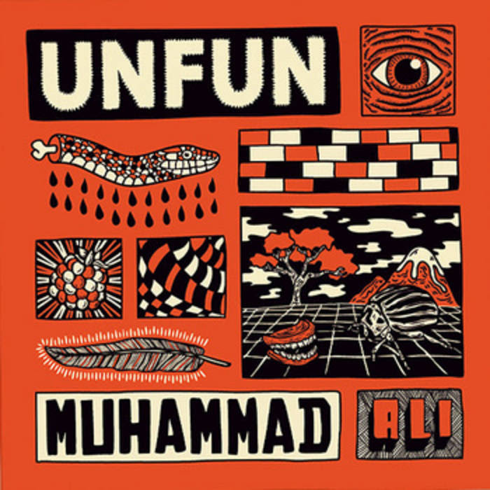 "Muhammad Ali Split 7"" cover art"