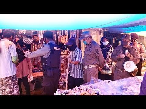 Berani Masuk Pasar Simpang Luas Kecamatan Batu Ketulis, Siap Ditegur Petugas Jika .....
