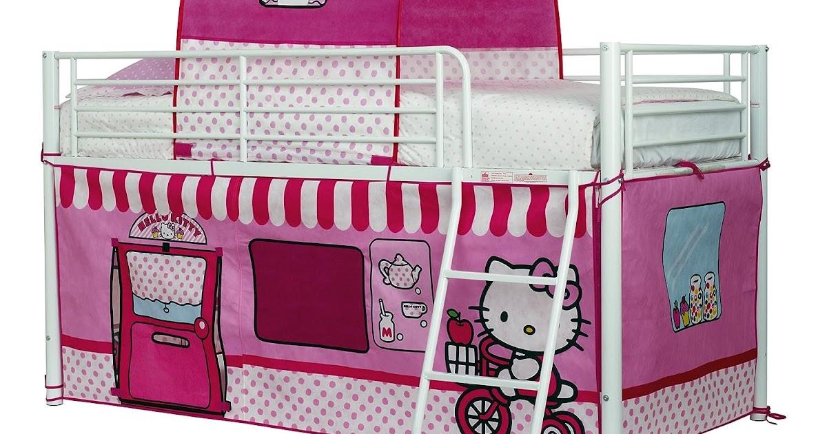 rezension worlds apart 490hek01 hello kitty hochbett. Black Bedroom Furniture Sets. Home Design Ideas