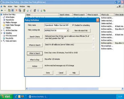 C2C Archive One Policy Manager server management software - Review