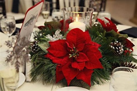 Merry and Bright Christmas Wedding Centerpieces 59