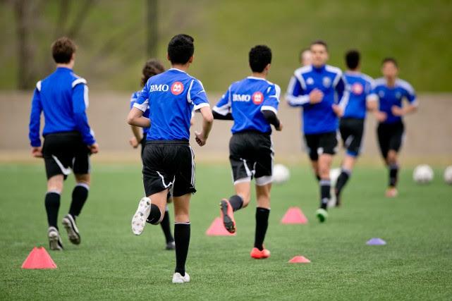 La grande majorité des jeunes joueurs de soccer... (PHOTO DAVID BOILY, ARCHIVES LA PRESSE)