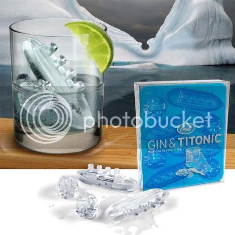 Titanic em forma de pedra de gelo