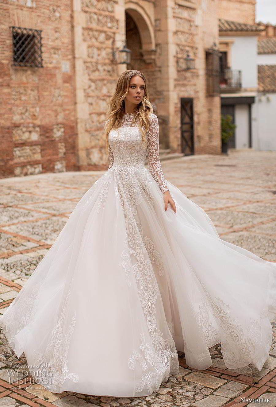 """naviblue 2019 wedding dresses """"dolly"""" collection  crazyforus"""