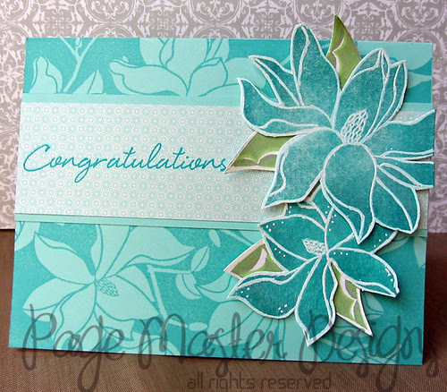 Teal lily boxed set