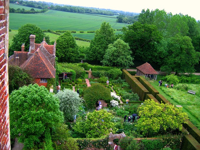 A View from the Tower at Sissinghurst