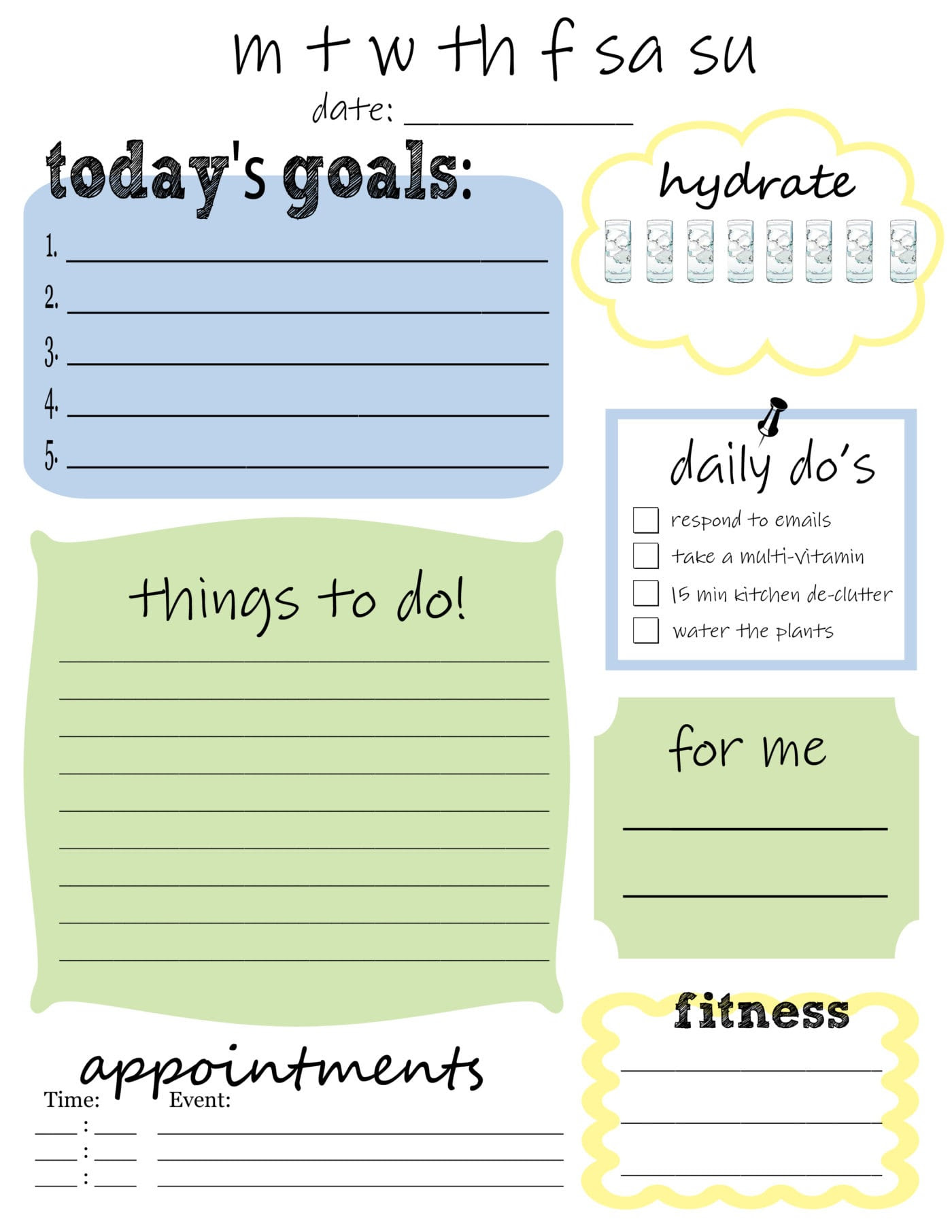 My Daily To Do List