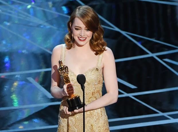 Emma Stone levou Oscar de Melhor Atriz (Foto: Getty Images)