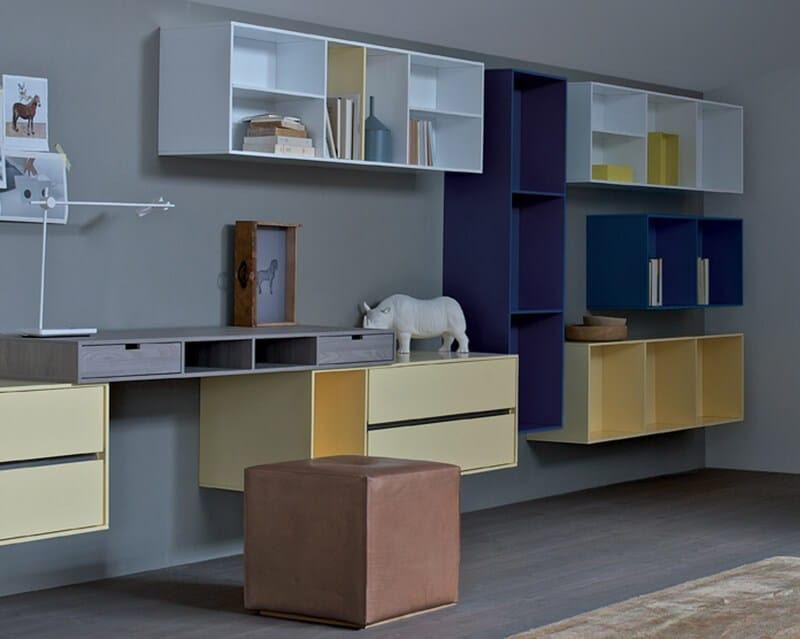 HABITAT Wall cabinet by ESTEL GROUP design Alessandro ...