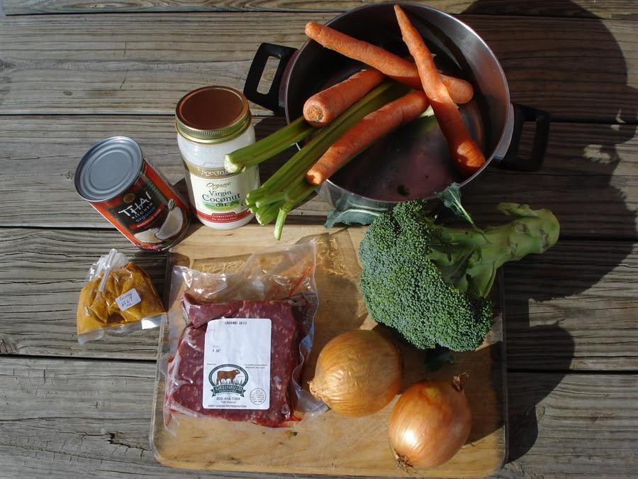 01 Curried Beef ingredients BASIC