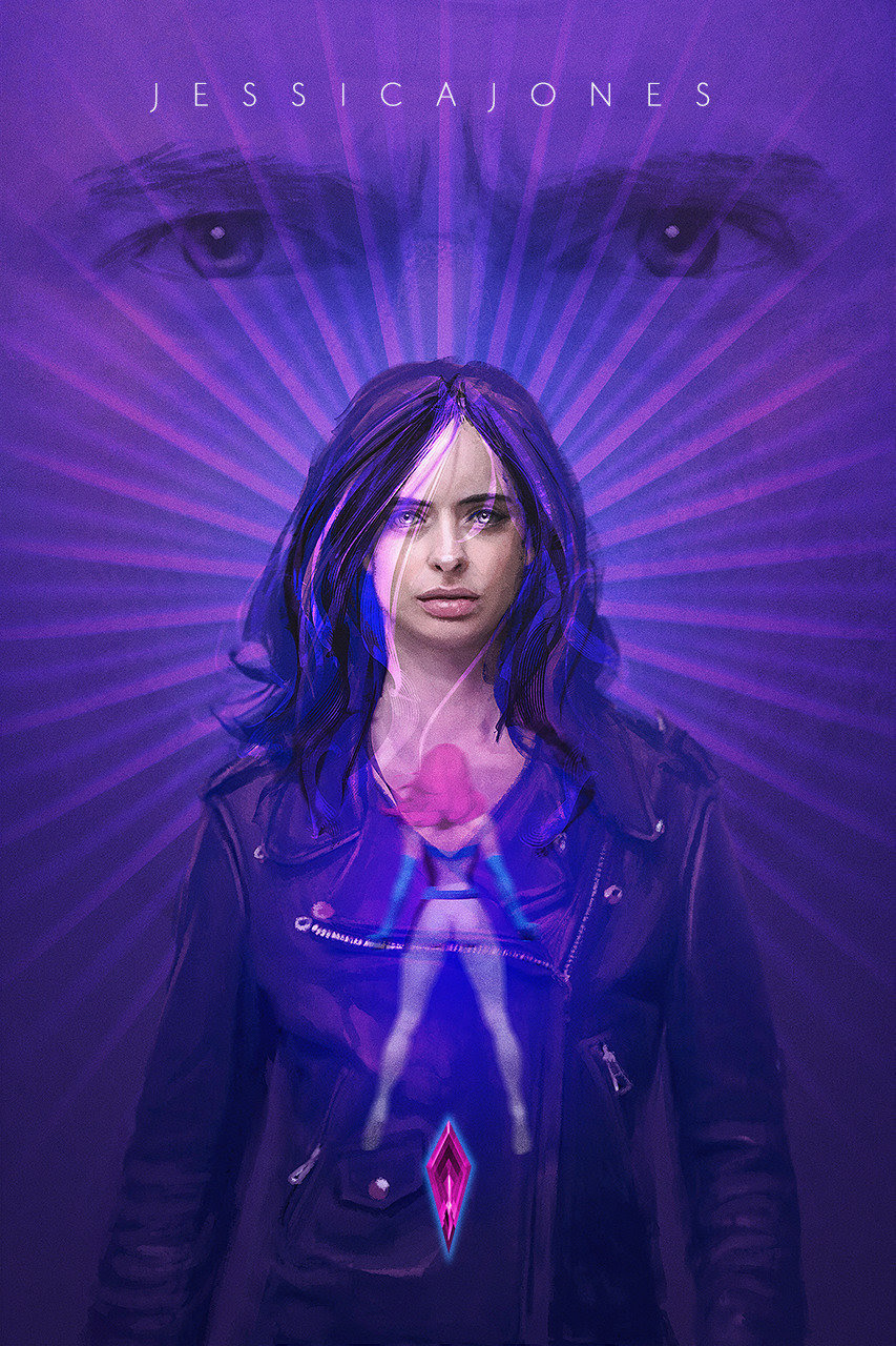 Jessica Jones Poster by John Aslarona