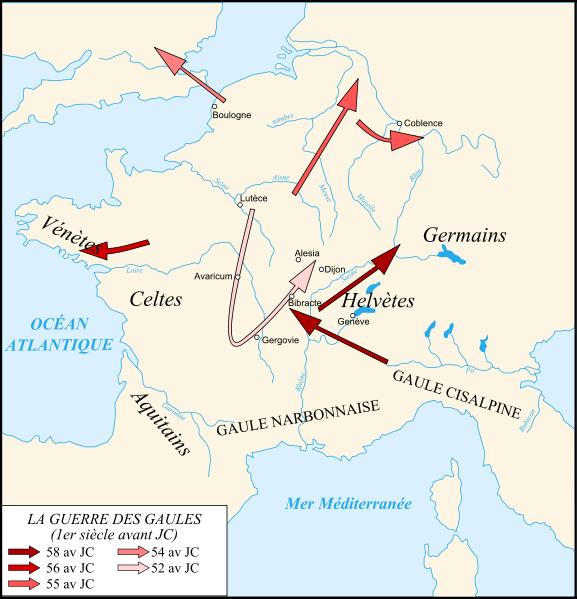 Archivo:Caesar campaigns gaul-fr.svg