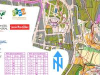 Map from WOC Sprint Qual