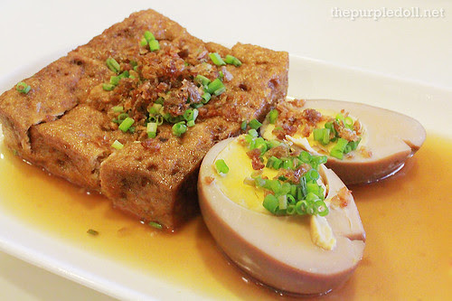 Braised Towfoo and Egg P98